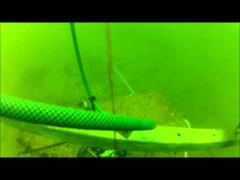 Salvage of pontoon mooring