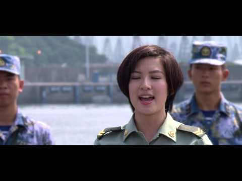 PLA female soldiers in Hong Kong