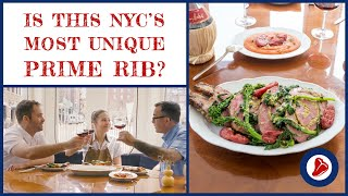 Is this NYC's Most Unique Prime Rib?