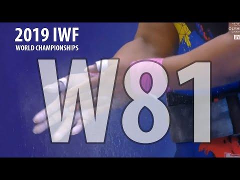 2019 World Weightlifting Championships. Women 81kg \ Чемпионат мира женщины до 81кг