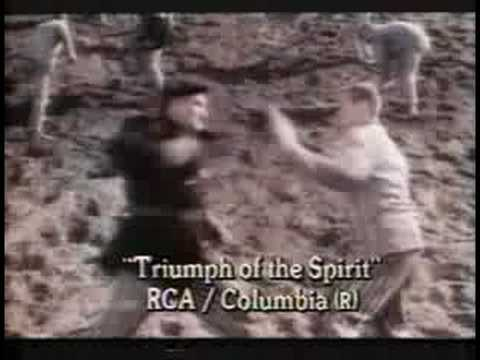triumph of the spirit, movie (video) trailer and review - youtube