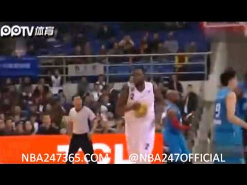 Eddy Curry CBA Highlights (First Game, 29 PTS)