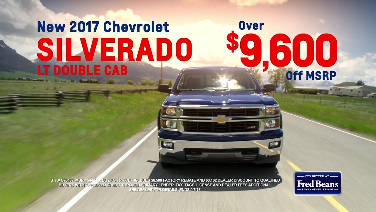 Fred Beans Chevrolet >> Fred Beans Chevrolet August 2017 Youtube