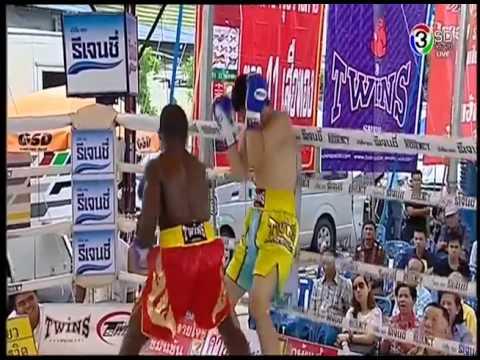 ไตโฮ อาลี มหาวิทยาลัยกรุงเทพธนบุรี vs มิกาโด้ จิตติยิมส์ Taiwo Ali vs Mikado Jittigym