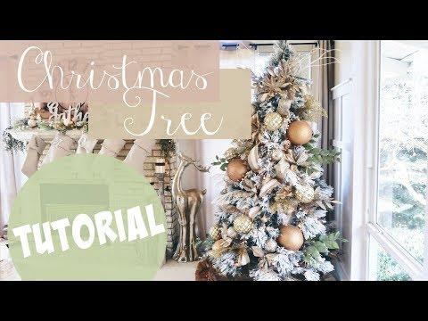 CHRISTMAS TREE TUTORIAL!