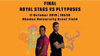 RIPL11 Final: Royal Stags vs Platypuses