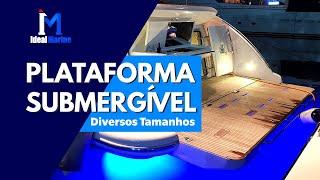 Plataforma Submergível - Diversos Tamanhos
