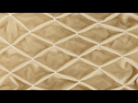 How to Sew Honeycomb Smocking