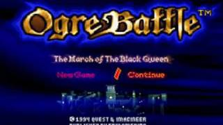 Ogre Battle - the entire soundtrack {part 1/3}