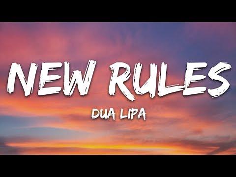 Dua Lipa - New Rules (Lyrics)