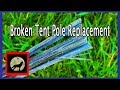 How to Repair or Replace Broken Backpacking Tent Poles