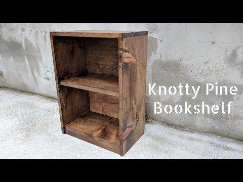 DIY Knotty Pine Book Shelf   NATHAN BUILDS
