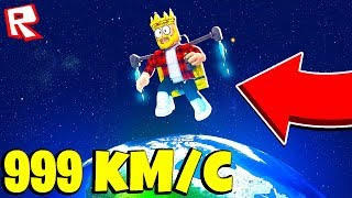 FLIGHT into space on 1 million MILES! DZHETPAKA ROBLOX SIMULATOR