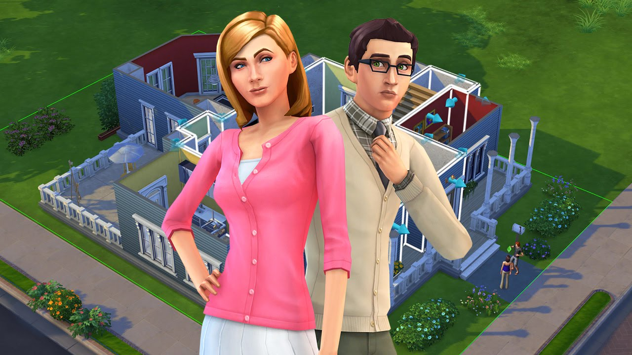 Sims  Big House Building