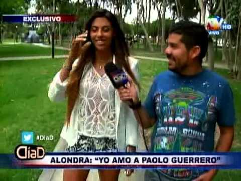 Alondra García Miró: 'Yo amo a Paolo Guerrero' - Día D