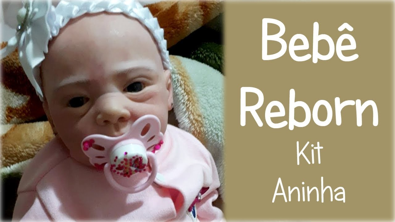 4e89af40d Bebê Reborn Rafaela que comprei no Mercado Livre (Kit Aninha) - YouTube
