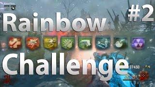 Origins: Rainbow Perk Challenge (Part 2) - Black Ops 2 Zombies