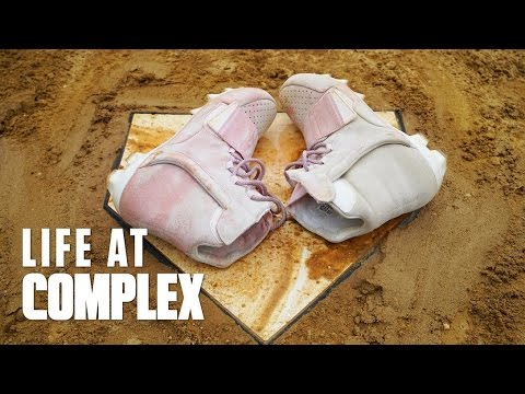 e46000d7a PLAYING BASEBALL IN UNRELEASED YEEZY CLEATS!