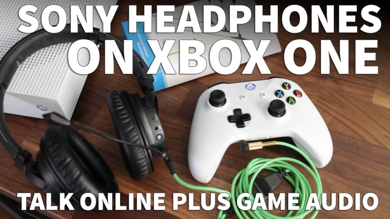 How to Use Sony Headphones with Microphone Game Chat on Xbox One – Sony  Microphone for Xbox Voice