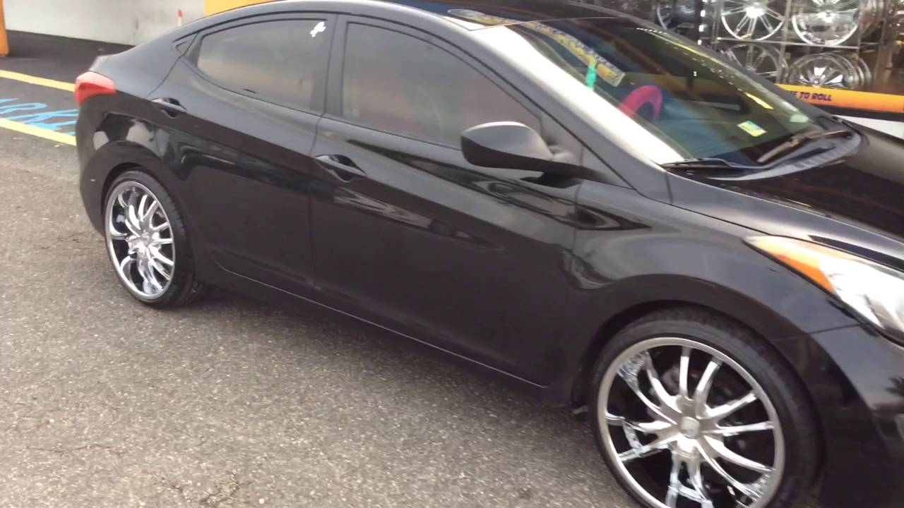 2012 Hyundai Elantra Stepping Out On 20 Quot Vct Bossini S