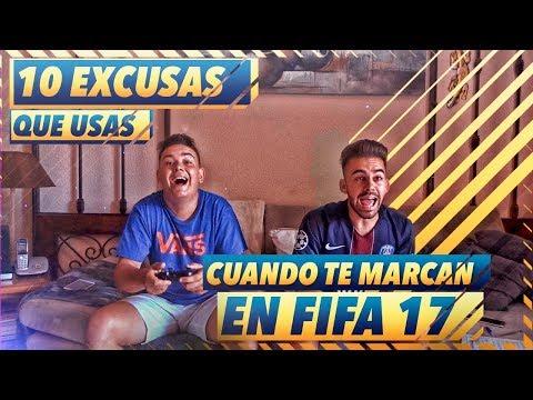 10 EXCUSAS QUE USAS CUANDO TE MARCAN UN GOL EN FIFA 17 - 동영상