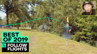 The CRAZIEST Follow Flight Throws of 2019 | Best of Disc Golf | Jomez Highlights