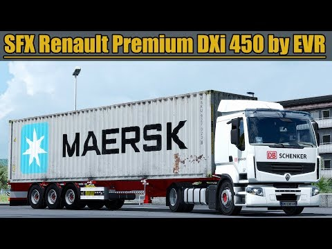 ✅ [ETS2 1.31] SFX Renault Premium DXi 450 Engine Sound by EVR