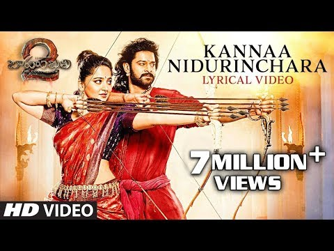 Thumbnail: Kanna Nidurinchara Full Song With Lyrics - Baahubali 2 Songs | Prabhas, Anushka | SS Rajamouli