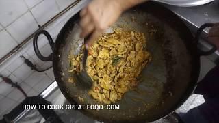 Chicken Jalfrezi Recipe - Indian Dry Fry Chili
