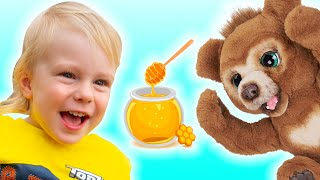 Teddy Bear Picnic Song for children by Sunny Kids Songs
