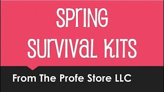 Spanish Spring Survival Kit Preview
