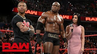 Finn Bálor will introduce Bobby Lashley to The Demon at WrestleMania: Raw, April 1, 2019