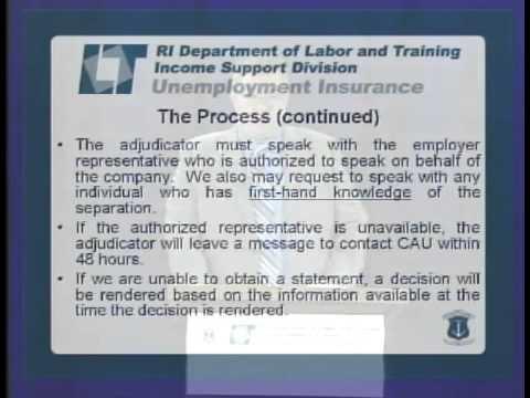 RI DLT Unemployment Insurance Tips for Employers