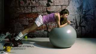 Plunk su fitball - Terry Fitness