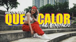 QUE CALOR - MAJOR LAZER (Dance Cover) Andree Bonifacio