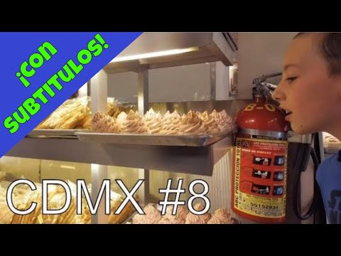 Inside Another Heavenly Mexico City Bakery | Pasteleria Madrid (eating Tostadas, Gringo-style 😎😬)