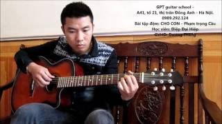 Tập guitar nhịp 3/4 - Điệu Valse (Học viên GPT school)