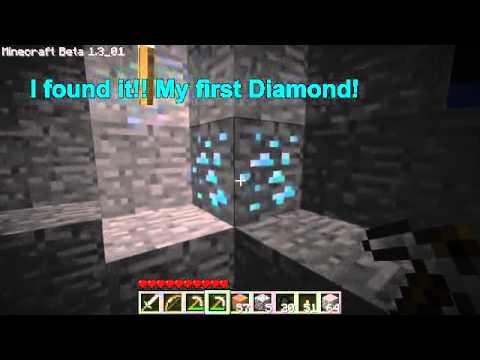 Minecraft - Diamond Block = NO DIAMOND???!!! (FAKE) - YouTube