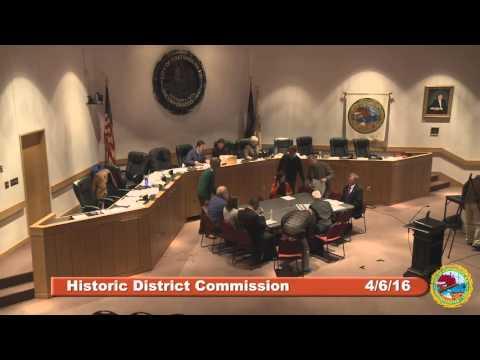 Historic District Commission 4.6.16
