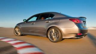 2013 Lexus GS 350 F Sport vs Mercedes-Benz E350 vs BMW 535i race track review