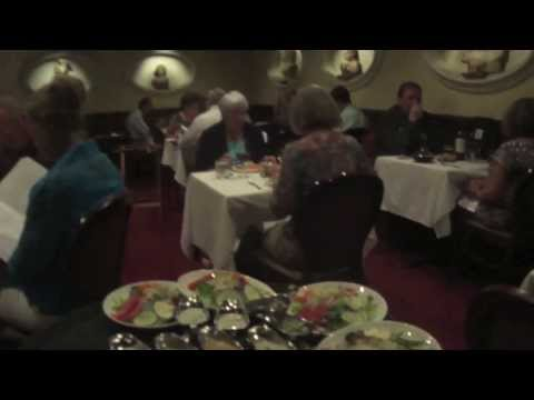 Delicious Aged Steaks at Bern's Steakhouse in Tampa, Florida