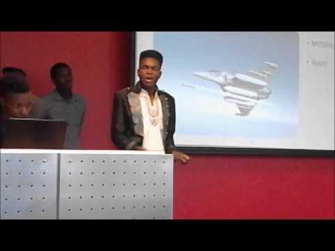 S.A Dlamini's presentation on how air crafts flys