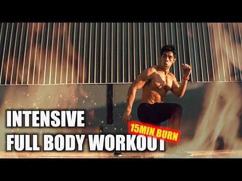 [Level 3] Intensive Full Body Workout! (15-20 minute workout experience)