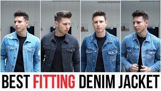 Best Fitting Denim Jackets For Men In 2018 (Zara, Asos, Forever 21, Bershka & New Look)