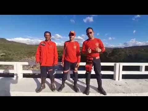 Corpo de Bombeiros Civil e brigadistas de Barra da Estiva alerta sobre o desafio 'quebra-crânio'