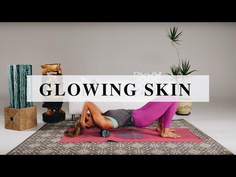 Glowing Skin Foam Rolling Sequence