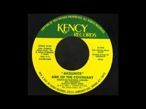 7'' Aksumite - Ark Of The Covenant (& DJ)