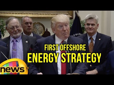 President Trump Signs an Executive Order On Implementing An America First Offshore Energy Strategy
