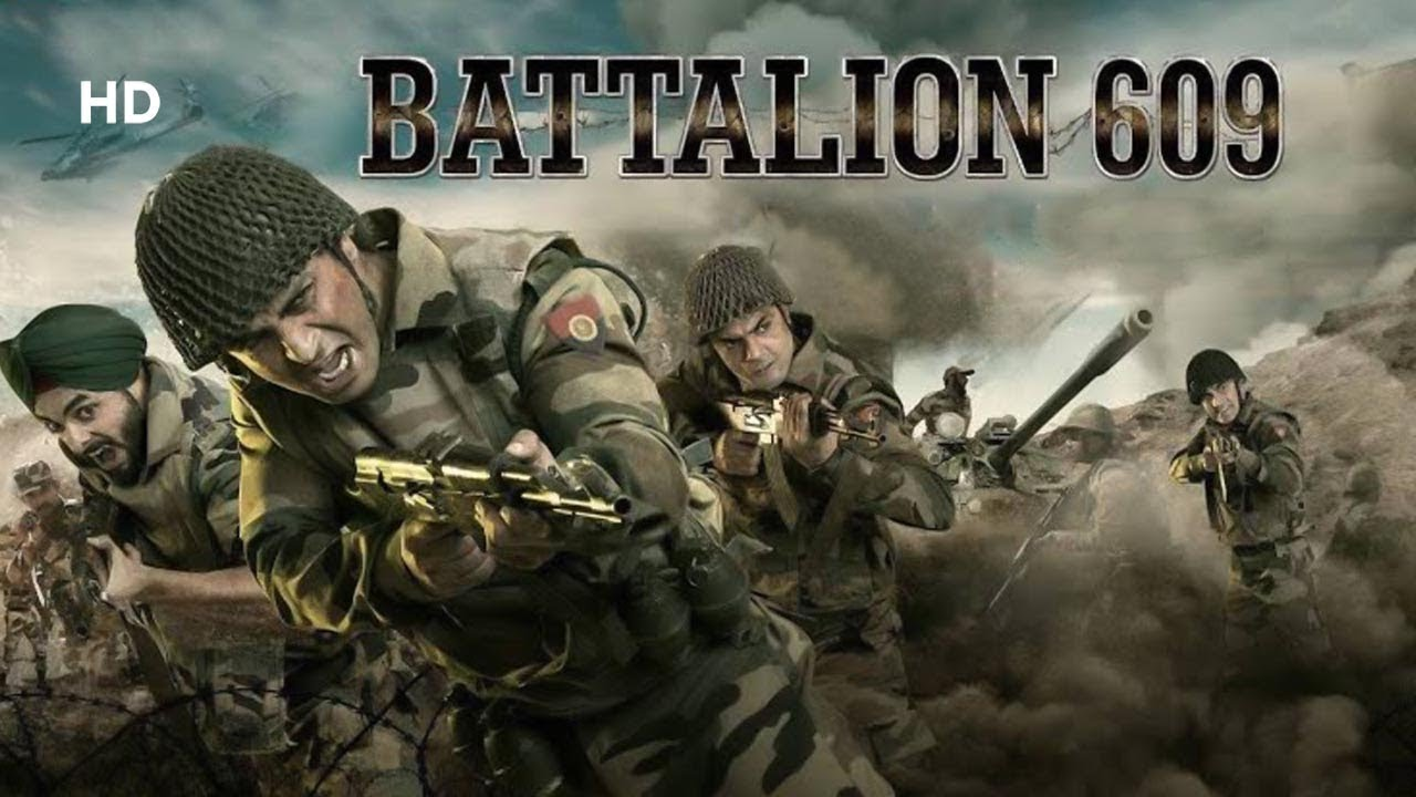 Battalion 609 (2019) | Shoaib Ibrahim | Shrikant Kamat | Vicky Ahija | Action Movie