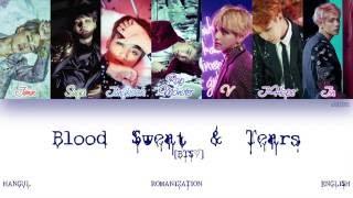 Download [HAN ROM ENG] BTS (방탄소년단) - Blood Sweat & Tears (피 땀 눈물) (Color Coded Lyrics)